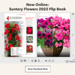 Digital Catalog from Suntory Flowers Highlights 2022 New Introductions